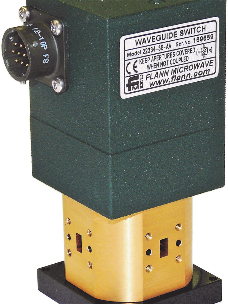Dc Motor Driven Waveguide Switches